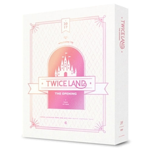 [Pre-Order] 트와이스TWICE - TWICELAND : THE OPENING CONCERT DVD (3 DISC)
