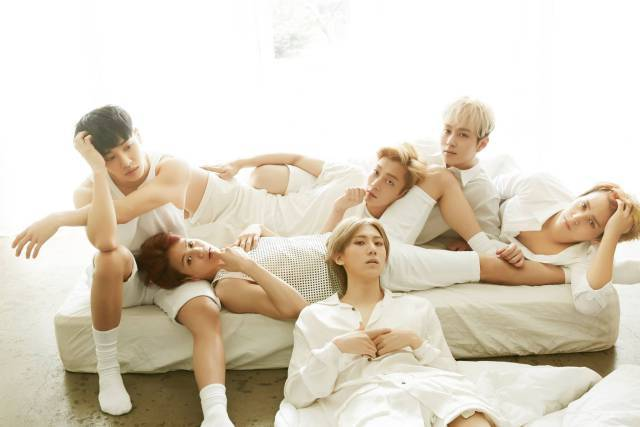 비스트 Beast Good Luck Unfolded Poster