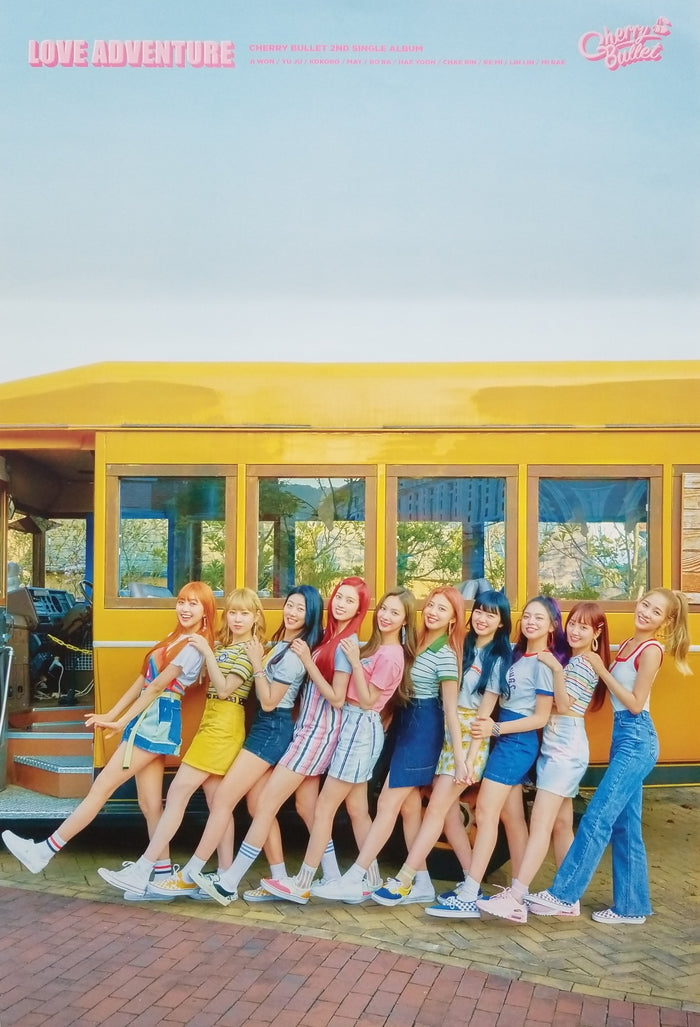 Cherry Bullet 2nd Mini Album Official Poster - Photo Concept 2