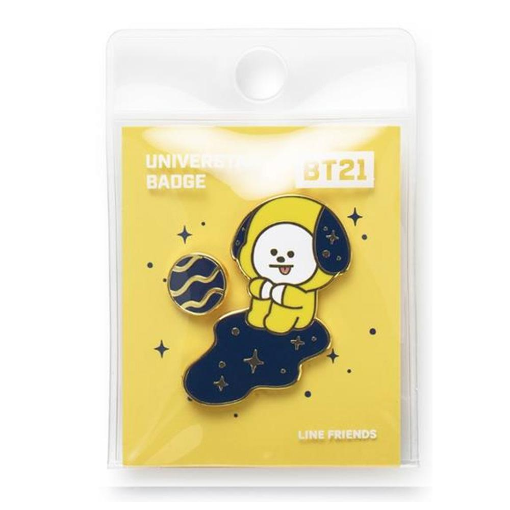 BT21 Official Merchandise- Universtar Badge Set