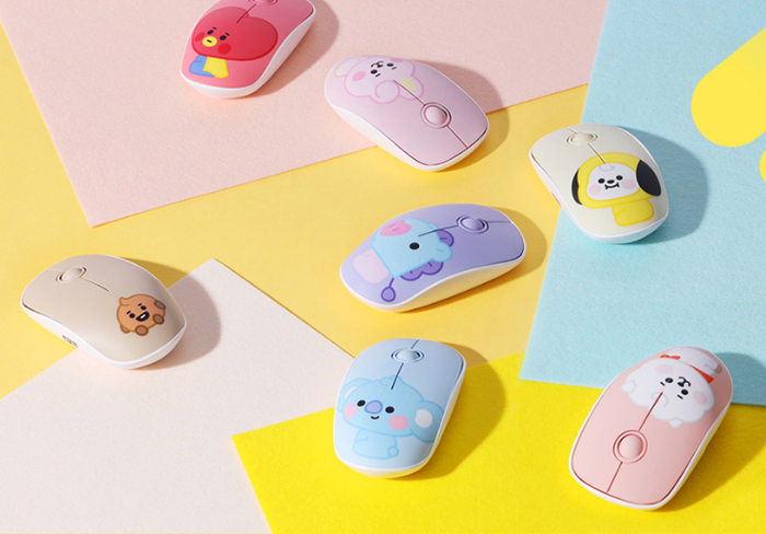 BT21 x Royche Official Merchandise - Baby Wireless Silent Mouse