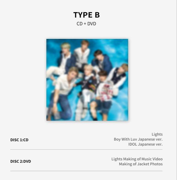 BTS Japanese Release - Lights/Boy With Luv | Version B