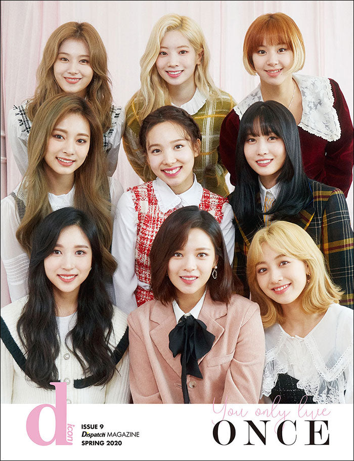 [Pre-Order] D-icon Magazine : Vol.07 TWICE You Only Live Once