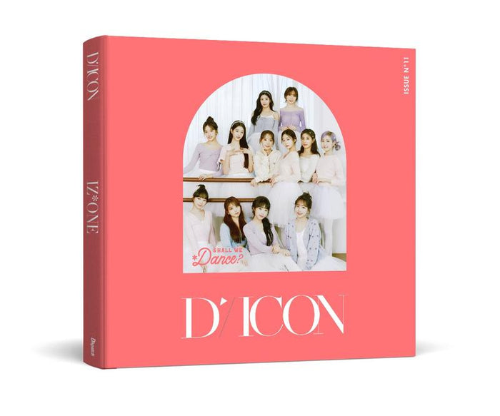 [Pre-Order] D-ICON Magazine Vol.11 - IZ*ONE SHALL WE *DANCE? (GROUP VER.)