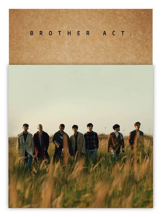 [Pre-Order] 비투비BTOB 2ND ABLUM - BROTHER ACT.