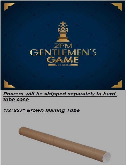 투피엠 2PM 6th Album - [GENTLEMEN'S GAME] (Normal Edition)
