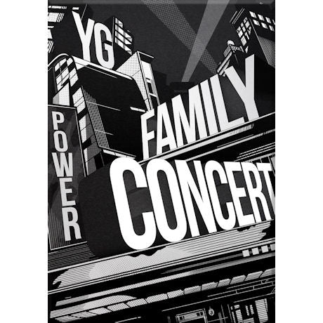 와이지 패밀리 서울 콘서트 2014 YG Family Concert in Seoul Live CD (3-CD + Photobook)