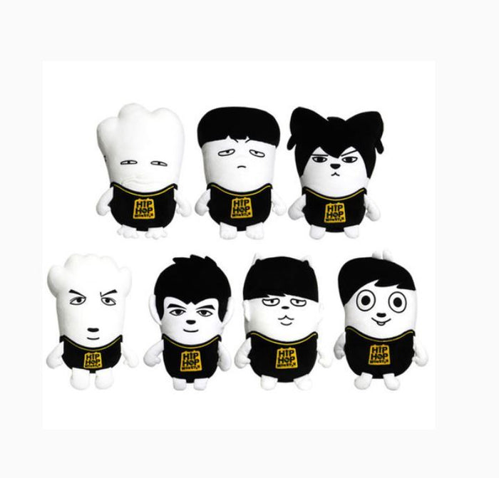 방탄소년단 BTS  HIPHOP MONSTER OFFICIAL CHARACTER CUSHION