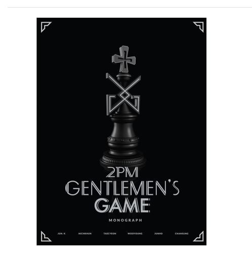 투피엠  2PM GENTELMEN'S GAME MONOGRAPH (Limited Edition)