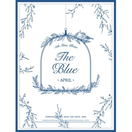 에이프릴 APRIL 5TH MINI ALBUM - THE BLUE