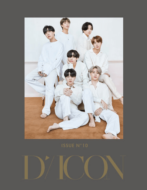 [Pre-Order] D-ICON Magazine VOL. 10: BTS Goes On! (Group Version) (Korean Version)