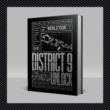 [Pre-Order] Stray Kids World Tour 'District 9 : Unlock' in SEOUL Blu-ray