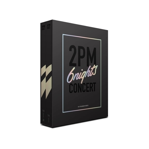 2PM 2017 CONCERT [6NIGHTS] 3DISC DVD
