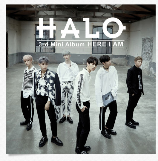 할로 HALO - HERE I AM (3rd Mini Album)+UNFOLDED POSTER