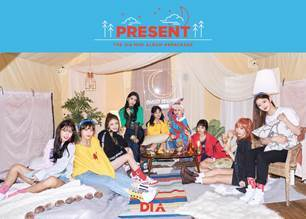 다이아 DIA 3RD MINI ALBUM REPACKAGE - PRESENT(GOOD EVNING VER)