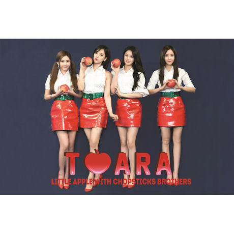 티아라 T-ara - Little Apple with Chopsticks Brothers