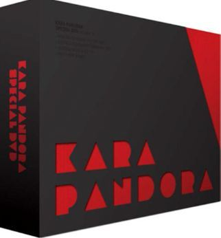 카라 Kara Pandora Special (4DVD + Photobook) (Limited Edition) (Korea Version)