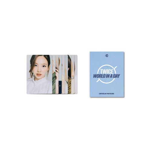 TWICE 2020 World in A Day Official Merchandise  - Lenticular Photocard Set