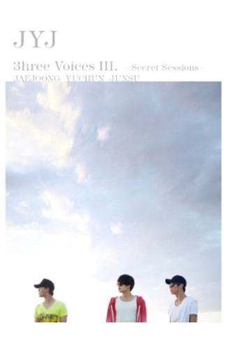 제이와이제이 JYJ - 3hree Voices III (2DVD + Folded Poster) (First Press Limited Edition) (Korea Version)