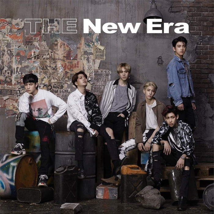 LIMITED EDITION GOT 7 [JAPANESE RELEASE]-THE NEW ERA