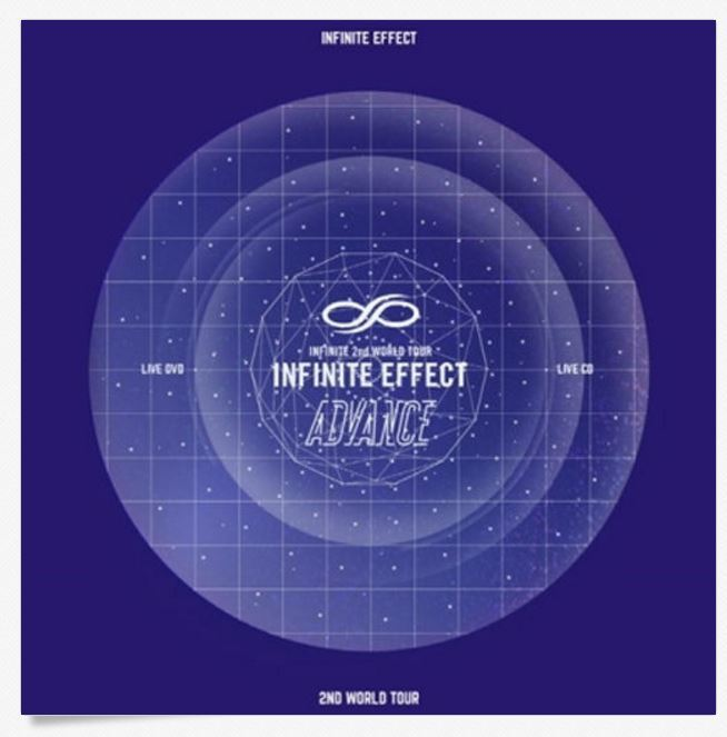 인피니트INFINITE-[EFFECT ADVANCE LIVE] 2 DVD+2 CD
