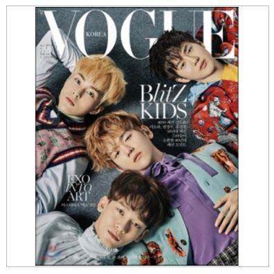 MAGAZINE VOGUE KOREA 2017-04 EXO VER.A