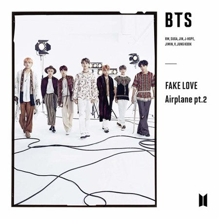 BTS Japanese Release - Fake Love Airplane pt. 2 Version C