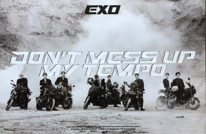 EXO 5TH ALBUM [DON'T MESS UP MY TEMPO] OFFICIAL POSTER - ALLEGRO VERSION