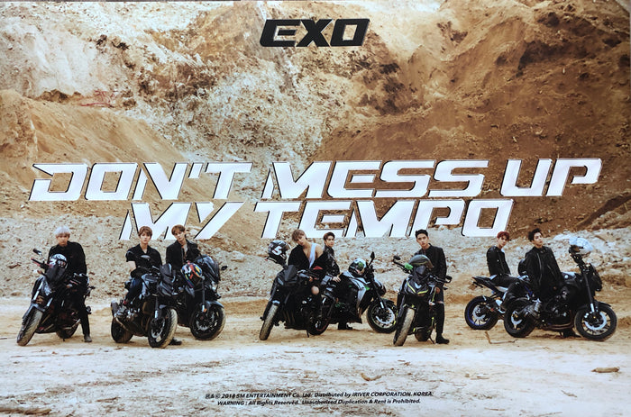 EXO 5TH ALBUM [DON'T MESS UP MY TEMPO] OFFICIAL POSTER - ANDANTE VERSION