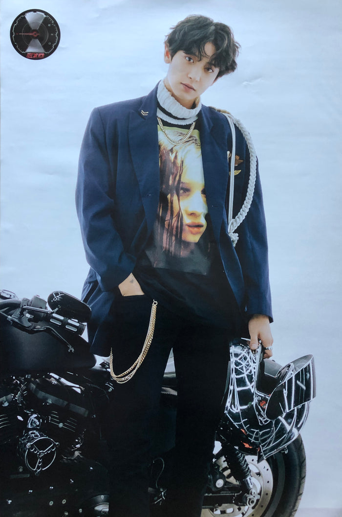 EXO 5TH ALBUM [DON'T MESS UP MY TEMPO] (VIVACE VER.) LIMITED EDITION MEMBER POSTER - CHANYEOL