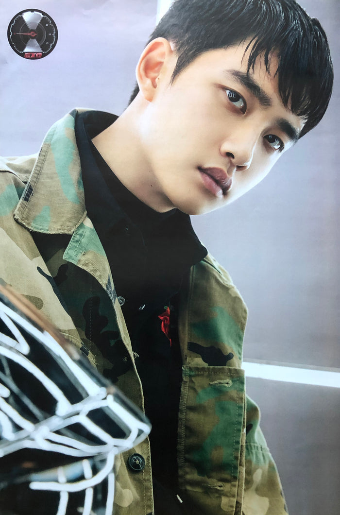 EXO 5TH ALBUM [DON'T MESS UP MY TEMPO] (VIVACE VER.) LIMITED EDITION MEMBER POSTER - D.O