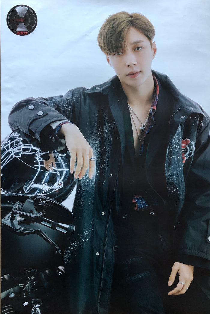 EXO 5TH ALBUM [DON'T MESS UP MY TEMPO] (VIVACE VER.) LIMITED EDITION MEMBER POSTER - LAY