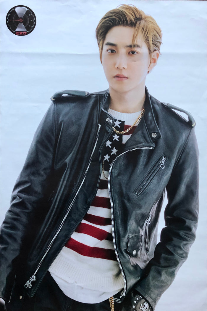 EXO 5TH ALBUM [DON'T MESS UP MY TEMPO] (VIVACE VER.) LIMITED EDITION MEMBER POSTER - SUHO