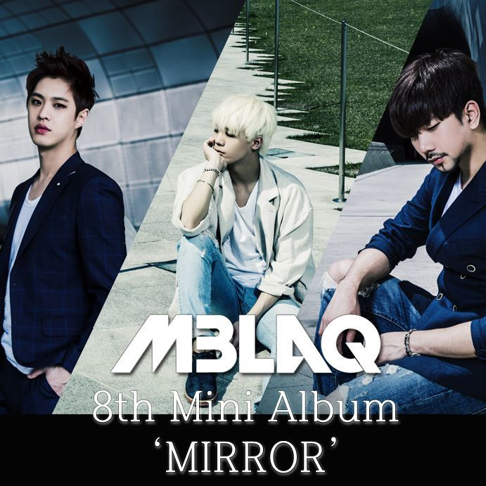 엠블랙 MBLAQ Mini Album Vol. 8 - Mirror