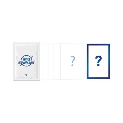 [Pre-Order]  TWICE 2020 World in A Day Official Merchandise - Trading Card Set