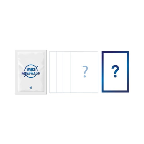 TWICE 2020 World in A Day Official Merchandise - Trading Card Set