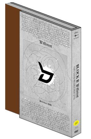 블락비 Block B - ['B'ifferent] -Very Good Production DVD- (2DVD + Photobook) (Korea Version)