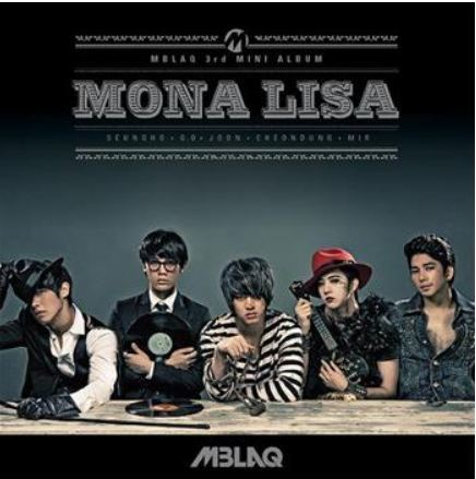 엠블랙 MBLAQ Mini Album Vol. 3 - Mona Lisa