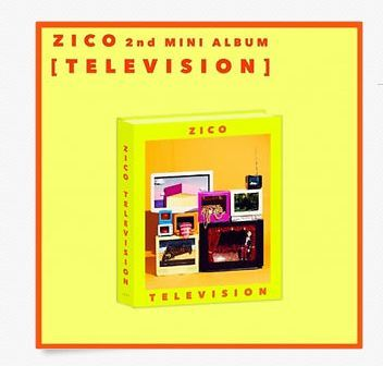 지코 ZICO(BLOCK B)  - 2ND MINI ALBUM TELEVISION