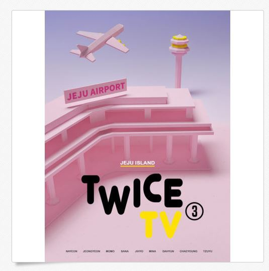 트와이스 TWICE - TWICE TV3  3DVD (Limited Edition)