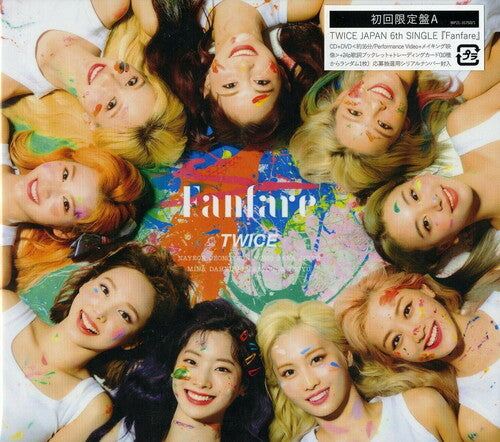 [Japan Import] TWICE - FANFARE (Limited Edition) (Ver A)