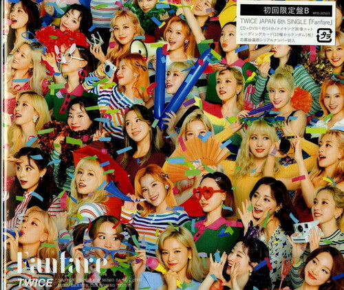 [Japan Import] TWICE - FANFARE (Limited Edition) (Ver B)