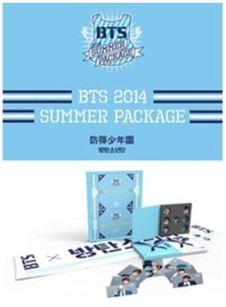 방탄소년단 BTS 1st Anniversary 'BTS 2014 Summer Package' (Limited Edition)