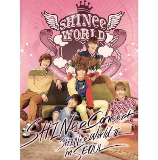 샤이니 SHINee - The 2nd Concert SHINee World II in Seoul (2DVD + Photo Cards) (Korea Version)