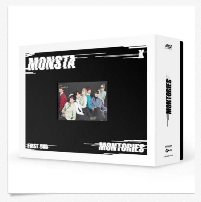 몬스타엑스 MONSTA X - 1st DVD [MONTORIES] 3Disc