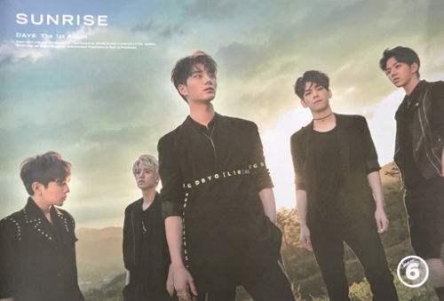 DAY6 Vol.1 Album SUNRISE - Official Poster