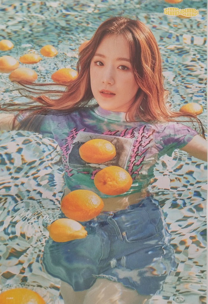 (G)I-DLE Single Album DUMDi DUMDi Official Poster - Photo Concept Shuhua