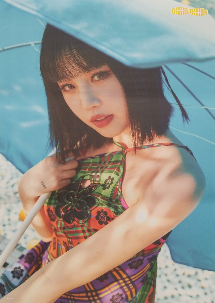 (G)I-DLE Single Album DUMDi DUMDi Official Poster - Photo Concept Soojin