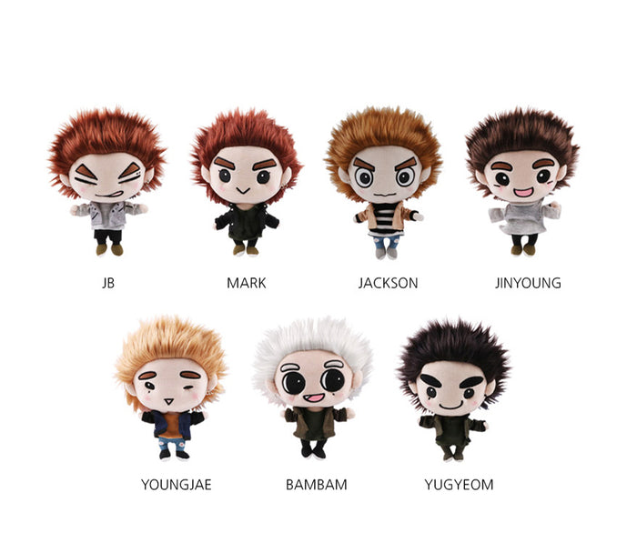 GOT7 [NEVER EVER] OFFICIAL GOODS - GOTOON DOLL