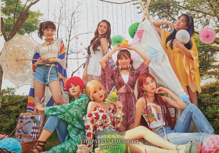 GWSN The Park in the Night Part Three Official Poster - Photo Concept 2